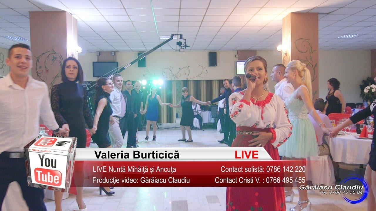 Valeria Burticica | LIVE Colaje SARBA, Petrecere, Joc si Voie Buna | Nunta Mihaita si Ancuta