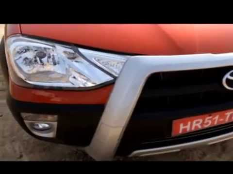 Toyota Etios Cross Test Drive Review - Motor Trend India
