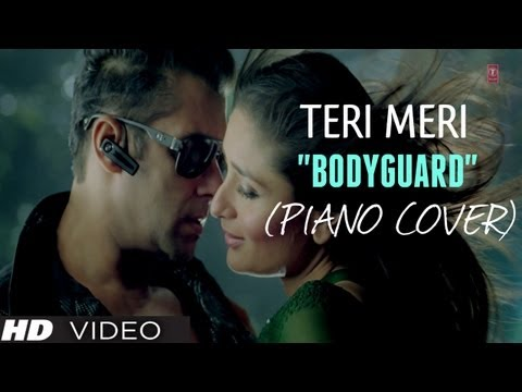 teri Meri Prem Kahani Piano Cover (instrumental) Bodyguard - Magical Fingers - Gurbani Bhatia video