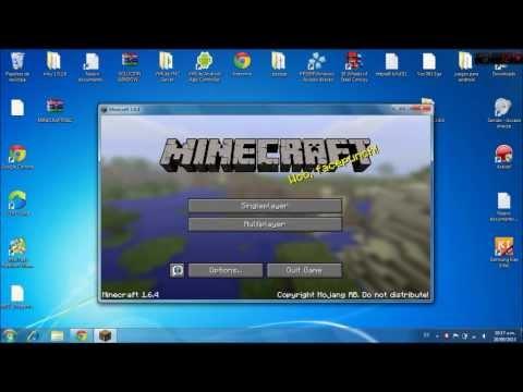 COMO DESCARGAR MINECRAFT 1 6 4 GRATIS PARA PC 2013