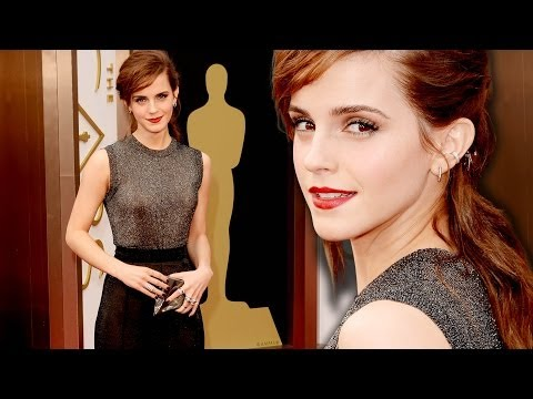 Emma Watson on the Red Carpet Oscars 2014