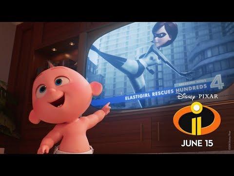 """Incredibles 2 """"Suit Up"""" Sneak Peek"""