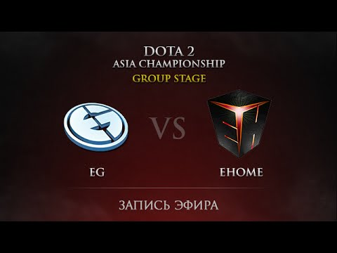 EG  vs  eHOME DAC 2015 Groupstage, Day 4, Round 34