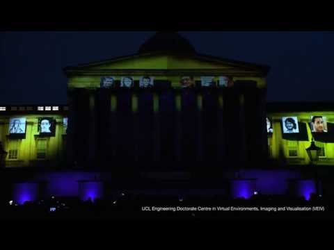 Celebrating 10 years of VEIV at UCL: Visualisation and Projection Party