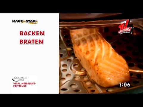 Gourmet Maxx Vital Heissluftfritteuse 2415 von insolvenz-vertrieb