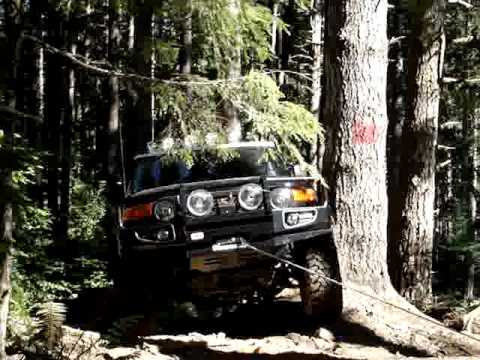 FJ Cruiser XRC8 winch