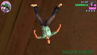 GTA VICE CITY FUNNY WASTED VIDEO Vice City Troll & Funny Moment Part 61