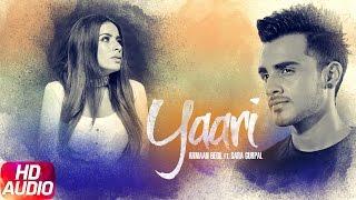 Yaari (Full Audio Song)| Armaan Bedil Feat Sara Gurpal | Punjabi Audio Song | Speed Records