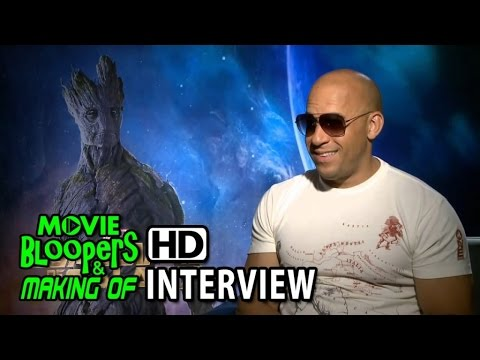 Guardians of the Galaxy (2014) Interview - Vin Diesel