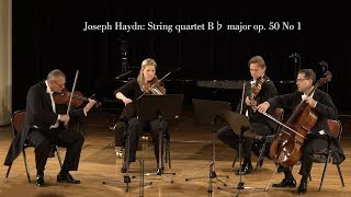 Symphony4Vienna plays Joseph Haydn  String quartet B♭ major op  50 No  1; 3rd movement