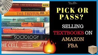Pick or Pass? Analyzing Textbooks to Sell on Amazon FBA - eFlip Sourcing