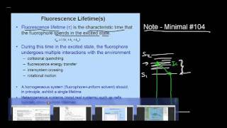 lecture 4 part 2 (fluorescence spectral distribution, parameters)
