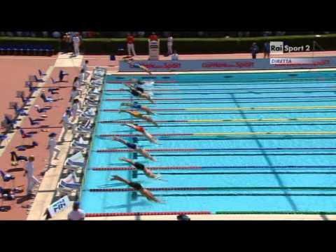 Internazionali di Nuoto - 50° Settecolli - Roma, 14/06/2013