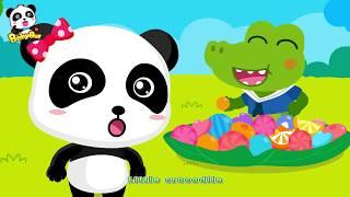 Baby Crocodile Ate up all Candies | Candy Song | Nursery Rhymes | Kids Songs | Kids Cartoon |BabyBus