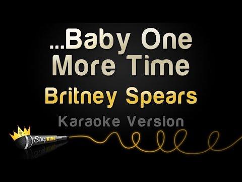 Britney Spears  Ba One More Time Karaoke Version