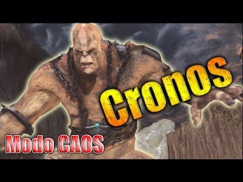 Cronos en modo CAOS (Chaos) // Como derrotar a cronos GOW3 (muerte de cronos)
