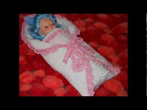 Download video: Конверт для новорожденного на выписку из роддома