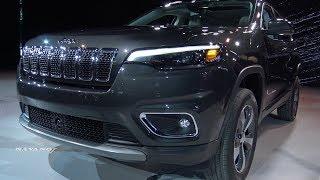2019 Jeep Cherokee Limited - Exterior And Interior Walkaround - 2018 Detroit Auto Show