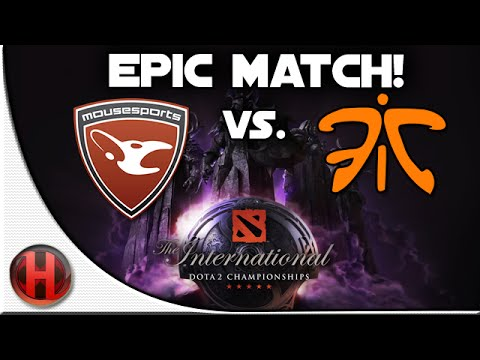 Dota 2 - #TI4 EPIC Match Mouz vs Fnatic (inc. Divine Rapier!)