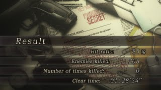【Resident Evil 4】New Game Pro Speedrun - 01:28'34 (IGT) / 01:26'50 (LRT)【WR】