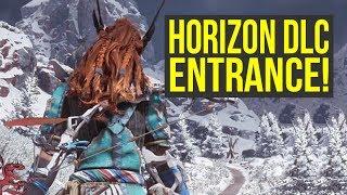Horizon Zero Dawn FROZEN WILDS ENTRANCE & What's Behind it! (Horizon Zero Dawn DLC)