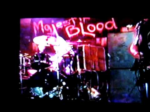 Majestic Blood    Hammers from Hell live.