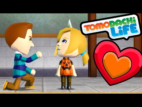 Tomodachi Life 3DS Will You Marry Mii? Proposal, Marriage, & Home Gameplay Walkthrough PART 59