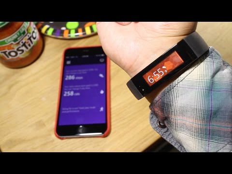 How to pair the Microsoft Band with the iPhone