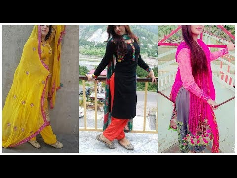 Beautiful Salwar Suits Designs || Latest Pakistani Salwar Suit Design Collection 2018-19