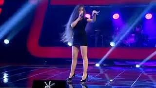 ذا فويس التركي صوت بنت فاجر