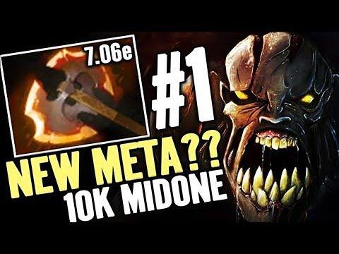 Battle Fury for Naix NEW META 10K MMR MidOne Dota 2