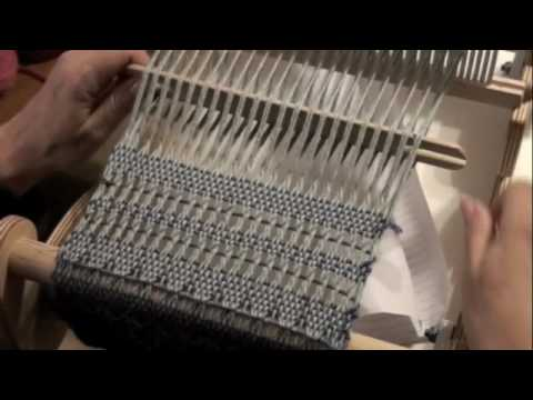 4 wire harness how to do a leno lace pattern on a rigid heddle loom with  how to do a leno lace pattern on a rigid heddle loom with