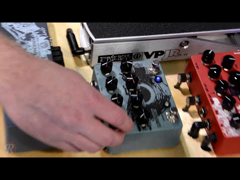 Walrus Audio's Luminary, Vanguard and Bellwether at NAMM 2015