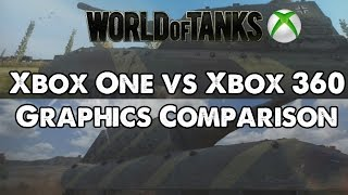 World of Tanks Xbox One/Xbox 360 Graphics Comparison