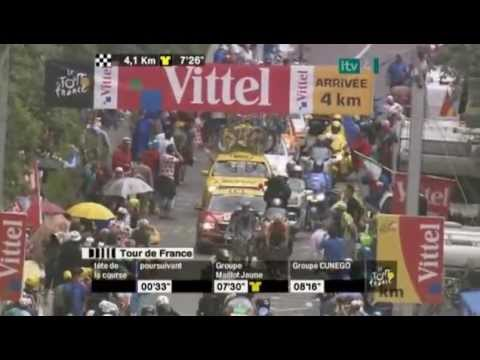 TdF Stage.15 .2008 Awesome Andy Schleck