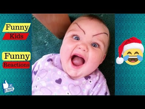 The Funniest Cute Kids Reactions of 2018