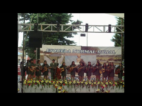 Rondalla voces romanticas de normal de teteles