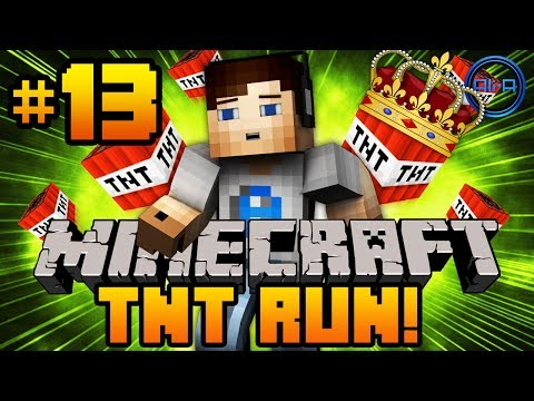 Minecraft TNT RUN - Mini Games w/ Ali-A #13 -