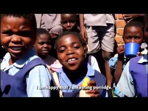Ndirande, Malawi. Schoolfeeding in the Slum