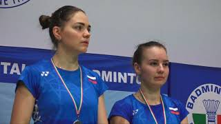 18° Yonex Italian international Finals: Ekaterina Bolotova and Alina Davletova