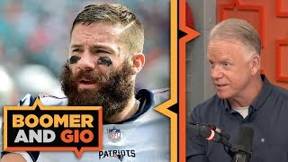 Super Bowl MVP Julian Edelman on his friendship with Tom Brady | Boomer & Gio