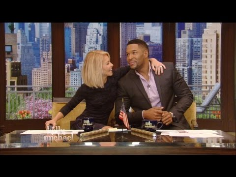 Michael Strahan Becomes Emotional During Last Show With Kelly Ripa