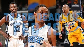 NBA Trade Deadline Special - The Starters
