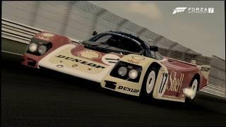 Forza Motorsports 7-Early Prototype Racers (Porsche #17 Porsche Dunlop & AG 962C '88)