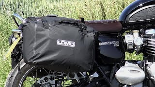 Triumph Bonneville T120, Waterproof motorcycle luggage that shouldnt exist!