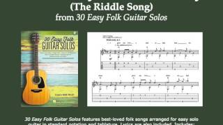 I Gave My Love a Cherry (The Riddle Song) (folk guitar instrumental solo)