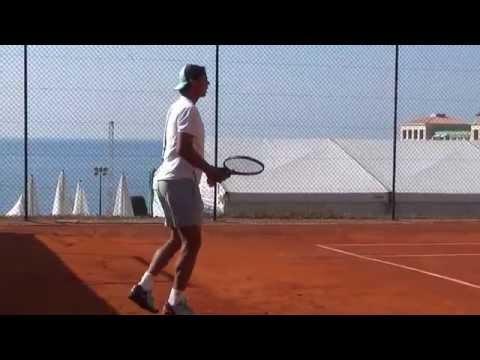 Nadal and Wawrinka Practice Monte Carlo 2015