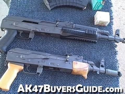 Shooting two AK47 Pistols Video