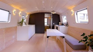 NEVER TOO SMALL ep.25 40sqm Houseboat - Dusky Parakeet