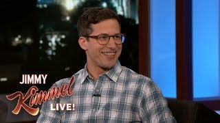 Andy Samberg Shows Favorite Clip Ever